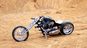 Preview wallpaper wheels, bike, wheel, black, chopper