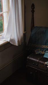 Preview wallpaper window, chest, interior, vintage