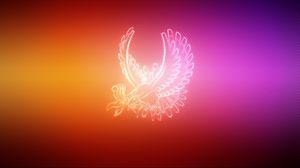Preview wallpaper wings, pokemon, bird, ho oh