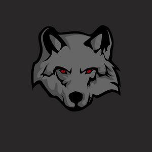 Preview wallpaper wolf, sticker, art, predator
