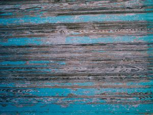 Preview wallpaper wood, boards, surface, blue, texture