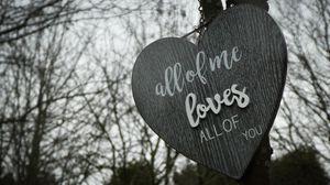 Preview wallpaper words, inscription, love, tablet