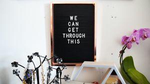 Preview wallpaper words, phrase, inscription, board, frame