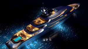 Preview wallpaper yacht, concept, luxury