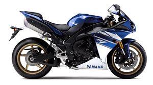 Preview wallpaper yamaha, motorbike, blue, yamaha r1
