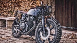 Preview wallpaper yamaha, motorcycle, cruiser, hdr