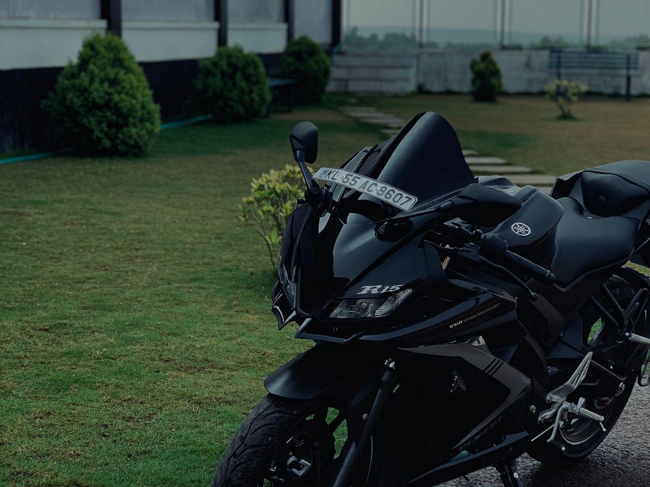 1280x960 Wallpaper yamaha r15, yamaha, motorcycle, bike, black