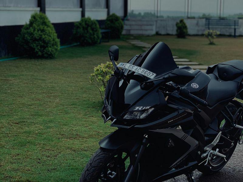 800x600 Wallpaper yamaha r15, yamaha, motorcycle, bike, black