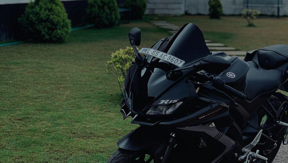960x544 Wallpaper yamaha r15, yamaha, motorcycle, bike, black