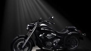 Preview wallpaper yamaha, xvs950a, midnight star, motorcycle