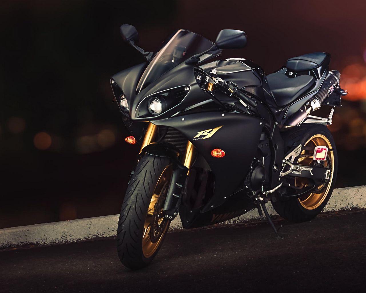 1280x1024 Wallpaper yamaha, yzf-r1, sport bike