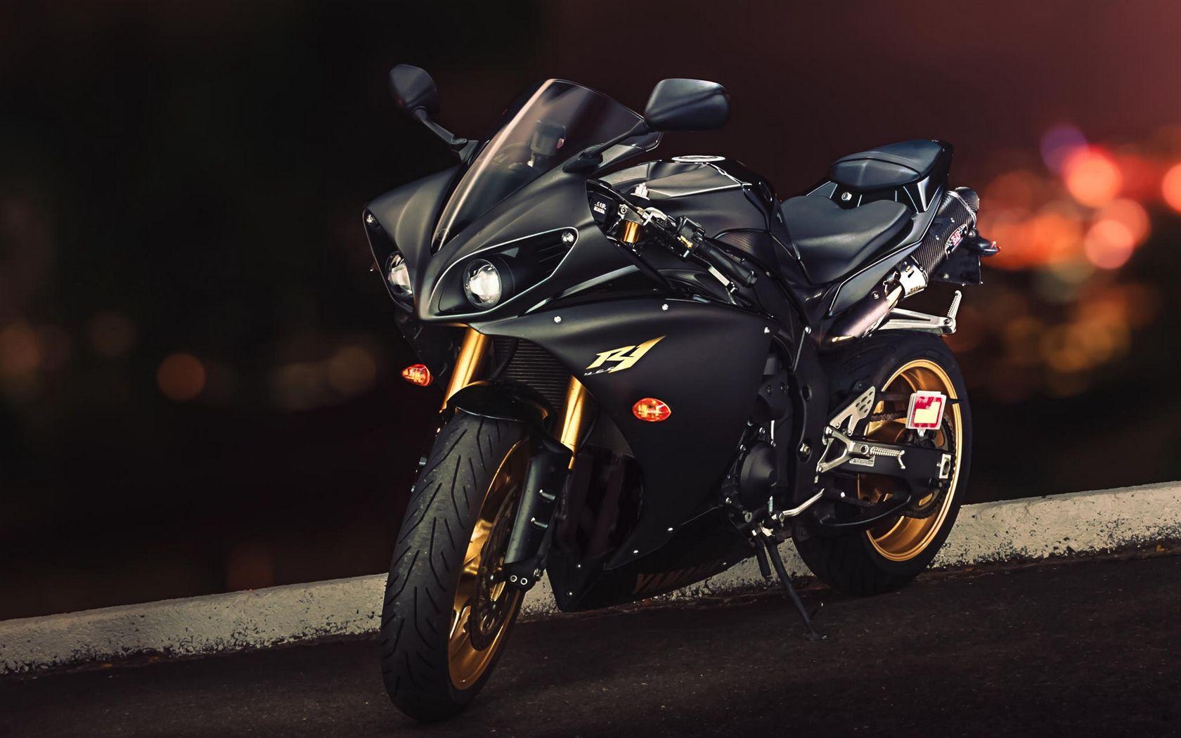 1680x1050 Wallpaper yamaha, yzf-r1, sport bike