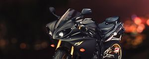 Preview wallpaper yamaha, yzf-r1, sport bike