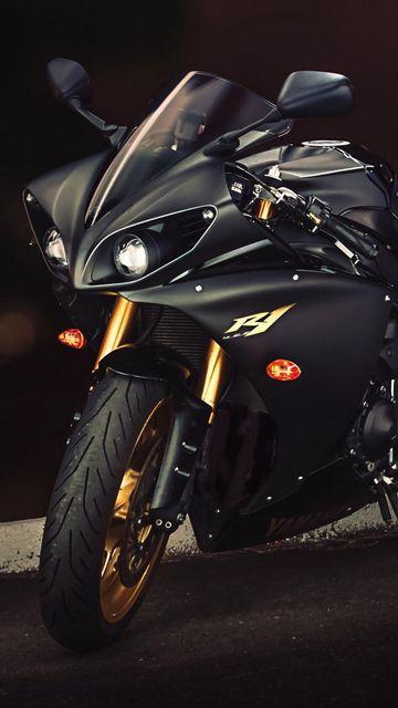 360x640 Wallpaper yamaha, yzf-r1, sport bike
