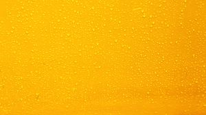 Preview wallpaper yellow, drops, background