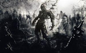 Preview wallpaper zombies, fantasy, art