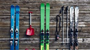 Preview wallpaper skis, equipment, boots