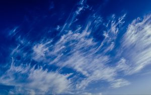 Preview wallpaper sky, clouds, porous