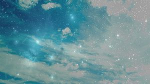 Preview wallpaper sky, stars, background, bright, abstract