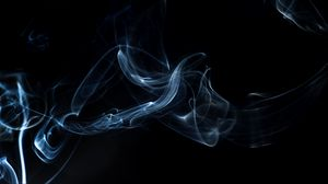Preview wallpaper smoke, shroud, shape, dark background