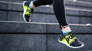 Preview wallpaper sneakers, sport, running, stage