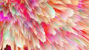 Preview wallpaper space explosion, bright, flows down, form, volume