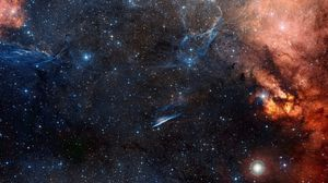 Preview wallpaper space, sky, stars