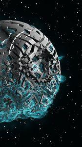 Preview wallpaper spaceship, sci-fi, space, fantasy, 3d