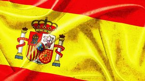 Preview wallpaper spain, emblem, flag
