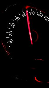Preview wallpaper speedometer, arrow, speed, backlight