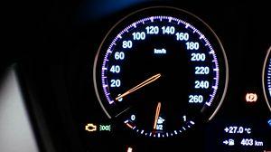 Preview wallpaper speedometer, speed, lights, numbers
