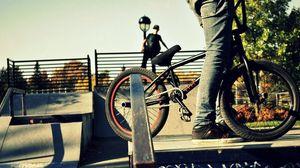 Preview wallpaper sports, people, bmx, bike