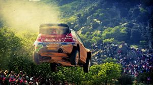 Preview wallpaper sports, race, rally, ford, abu-dhabi, sport