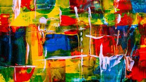 Preview wallpaper spots, paint, abstraction, colorful, texture