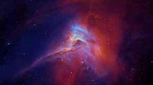 Preview wallpaper star, nebula, glow