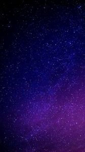 Preview wallpaper starry sky, galaxy, glitter, night