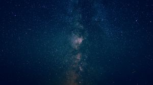 Preview wallpaper starry sky, galaxy, light, night