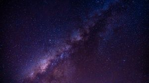 Preview wallpaper starry sky, milky way, stars, space, astronomy