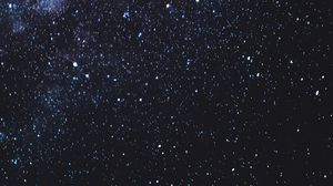 Preview wallpaper starry sky, stars, galaxy, night