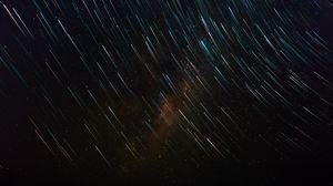 Preview wallpaper starry sky, stars, night, shine, glitter