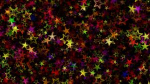 Preview wallpaper stars, colorful, art, abstract