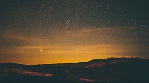 Preview wallpaper stars, night, sky
