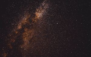 Preview wallpaper stars, space, sky, glitter