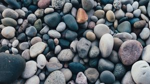 Preview wallpaper stones, sea, pebble