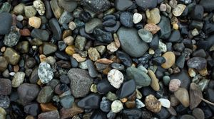 Preview wallpaper stones, sea, wet