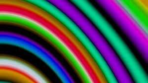Preview wallpaper stripes, colorful, abstraction, blur