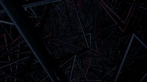 Preview wallpaper structure, interlacing, pipes, tangled, dark, endless