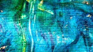 Preview wallpaper surface, tiles, fragments, blue