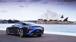 Preview wallpaper sydney, opera house, lexus, lexus lf lc, australia, new south wales