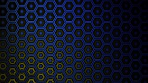Preview wallpaper texture, hexagons, cells, gradient